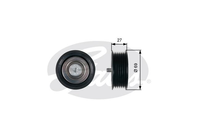 Gates Engine Idler Pulley 36487 Sparesbox - Image 1