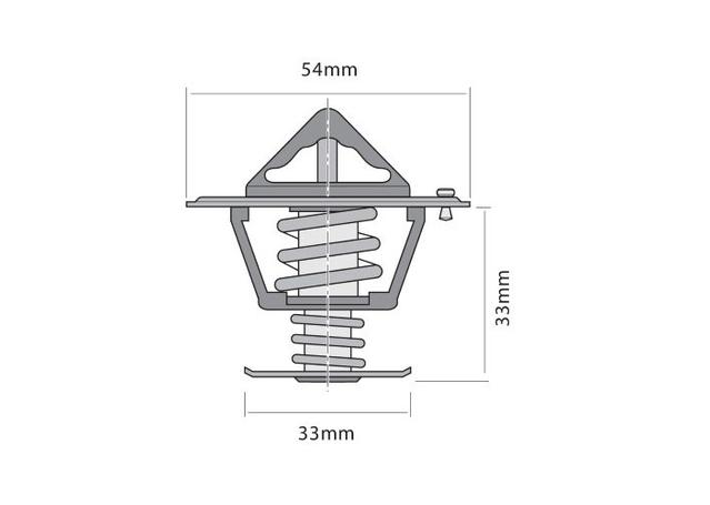 tridon thermostat  high flow  tt329