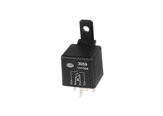HELLA Relay Normally Open With Diode 12V 50A 3059 Sparesbox - Image 11