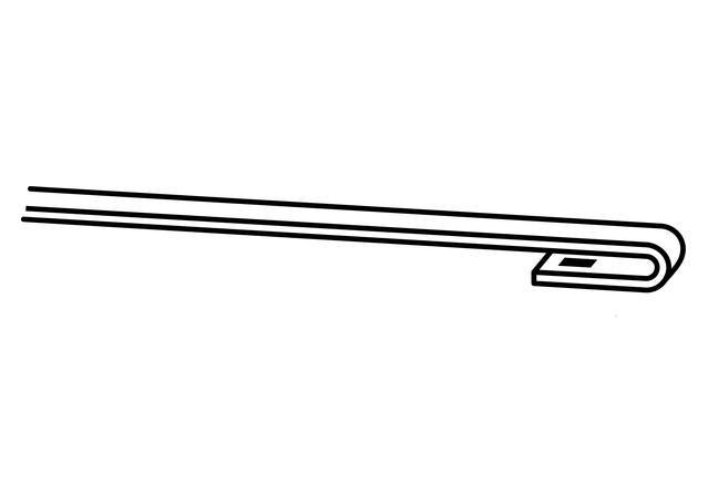 Trico Exact Fit Hybrid Wiper Blade 500mm HF500 Sparesbox - Image 5