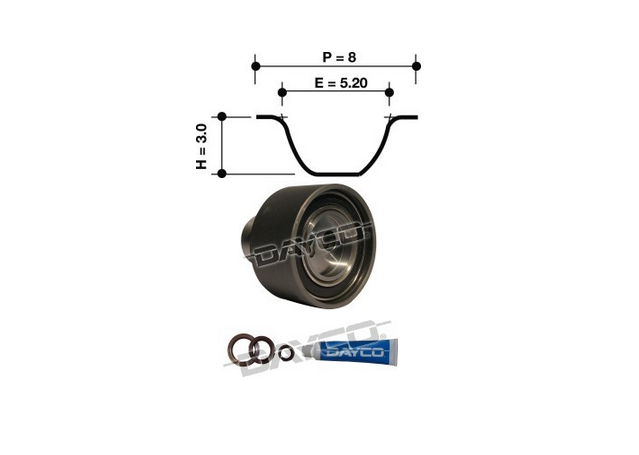 Dayco Timing Belt Kit KTBA028 Sparesbox - Image 11