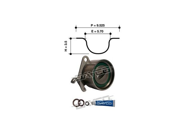 Dayco Timing Belt Kit KTBA058 Sparesbox - Image 11