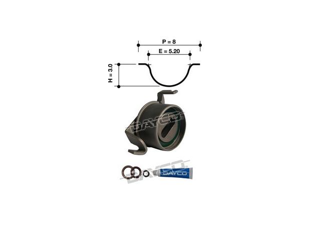 Dayco Timing Belt Kit KTBA062 Sparesbox - Image 11