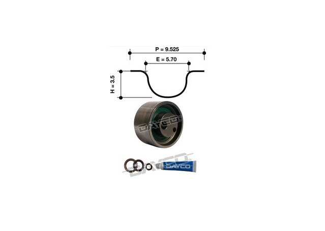 Dayco Timing Belt Kit KTBA125 Sparesbox - Image 11