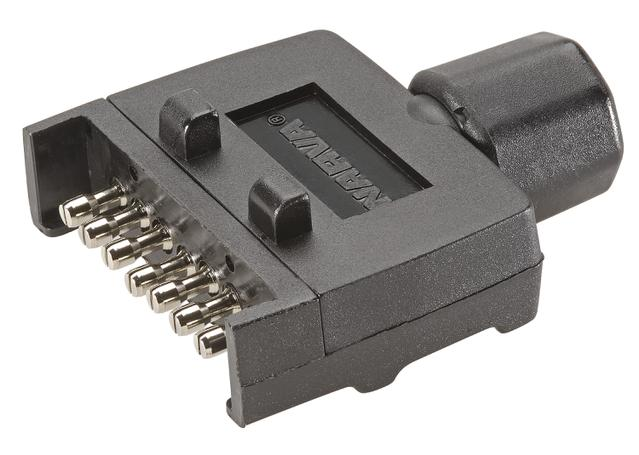Narva 7 Pin Trailer Plug Flat 82141BL Sparesbox - Image 11